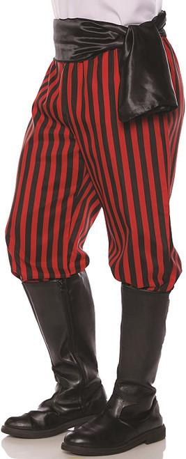 Pirate Pants Red/Black XXL
