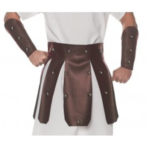 Roman Belt Set Brown