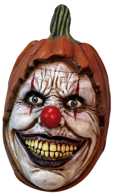 Carving Pumpkin Clown Mask