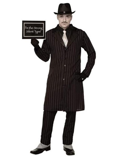1920's Silent Movie Gangster Adult Costume