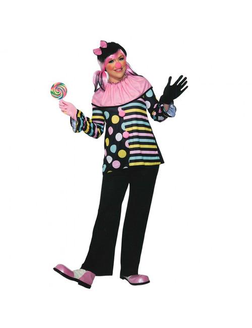 Pastel Clown Adult Costume