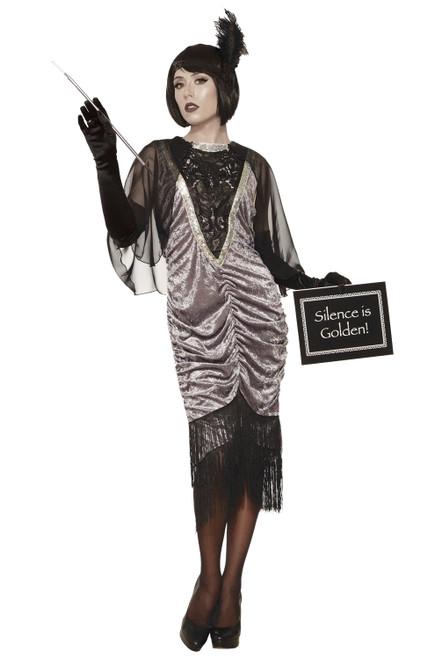 1920's Silent Movie Flapper Adult Costume
