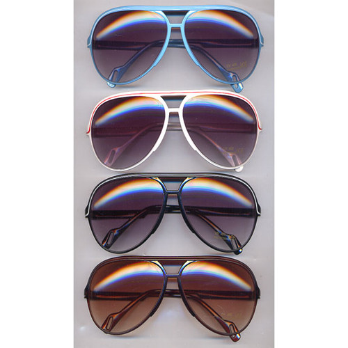 Aviator Plastic w/ Line Sunglasses