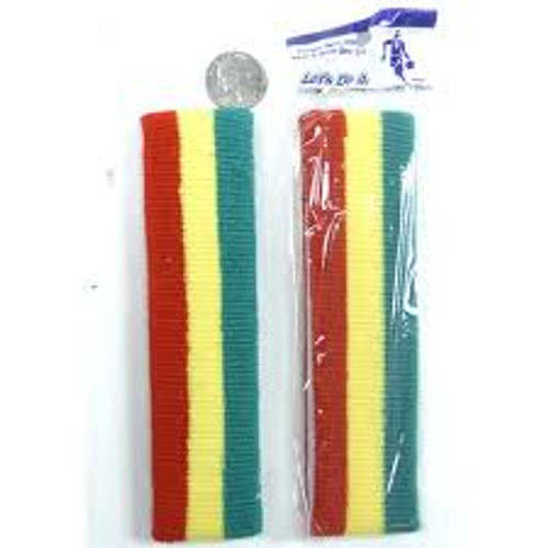 Red, Yellow, and Green Sweatband Set