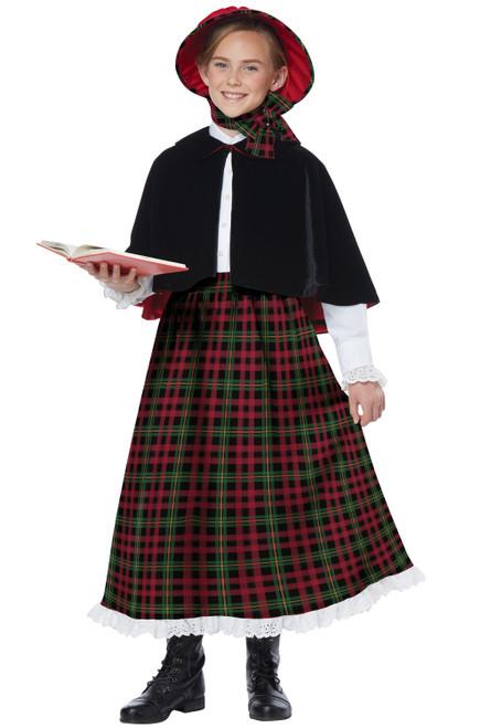 Holiday Caroler Girl Costume