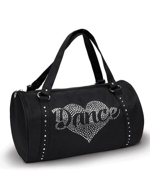 Rhinestone Heart Bag
