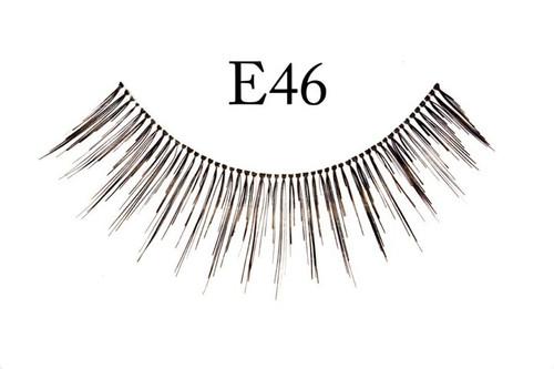 E46 Natural Black Eyelashes