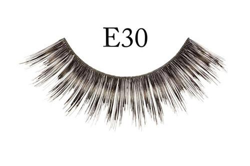 E30 Thick Black Eyelashes