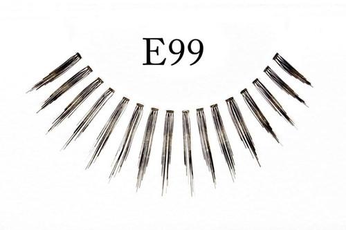E99 Feathered Black Eyelashes