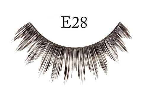 E28 Thick Feathered Black Eyelashes