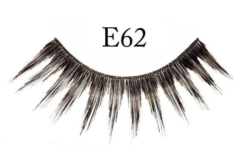 E62 Pointed Natural Black Eyelashes
