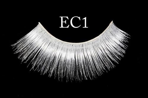 EC1 White Eyelashes