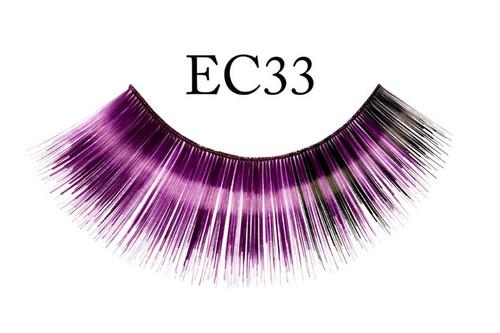 Deep Purple Eyelashes