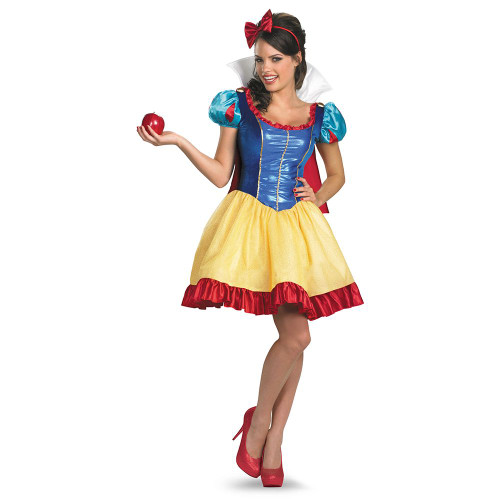 Snow White Fab Deluxe Costume