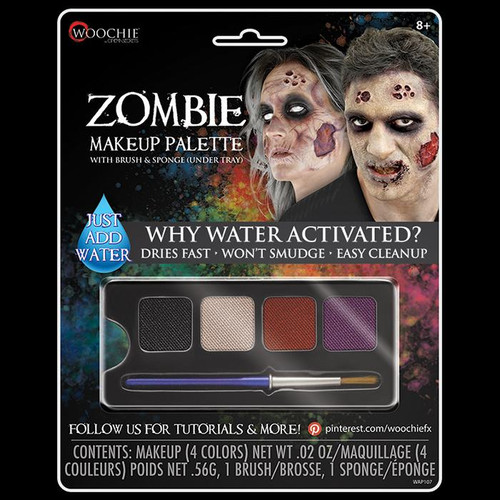 Zombie Water Activated Makeup Palette