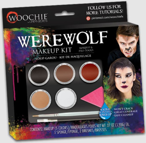 Werewolf Makeup Kit (5 Colors)