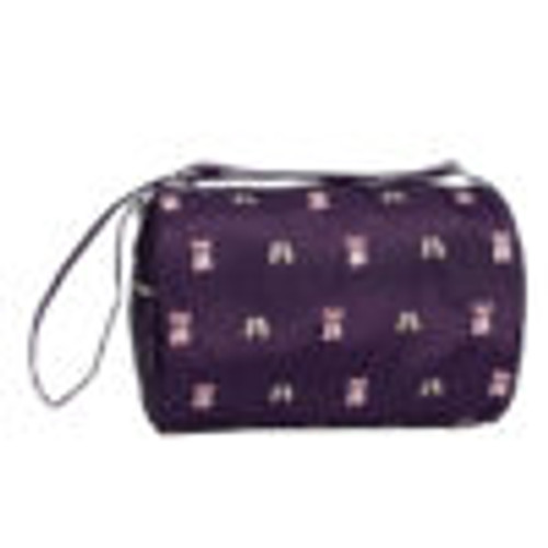 Daisy Duffle Bag - Purple