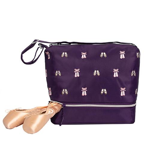 Daisy Gear Tote Dance Bag Purple