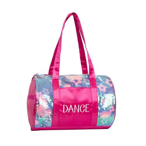 Comets & Stars Sequins Duffel Dance Bag