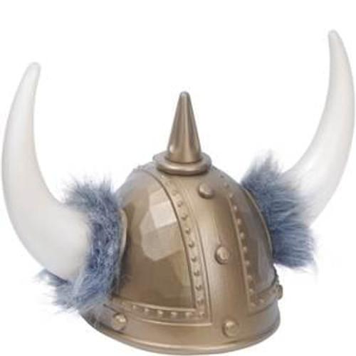 Viking Helmet w/Fur
