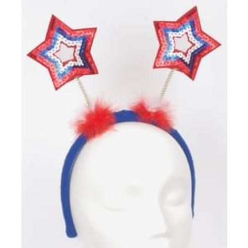 Patriotic Light Up Star Headband