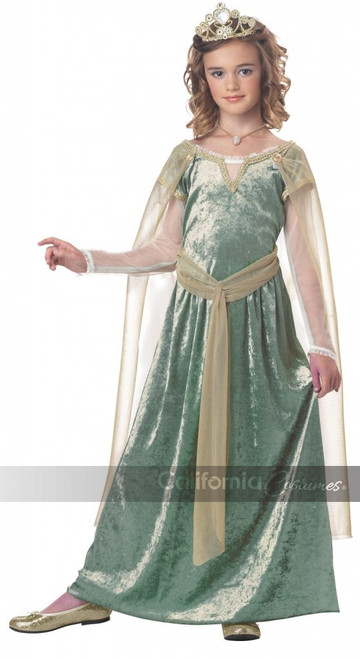 Queen Guinevere Child Costume