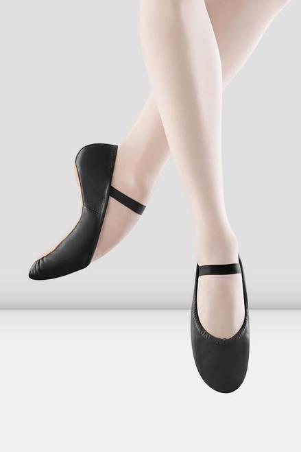 Bloch Dansoft Full Sole Ballet Shoe - Black