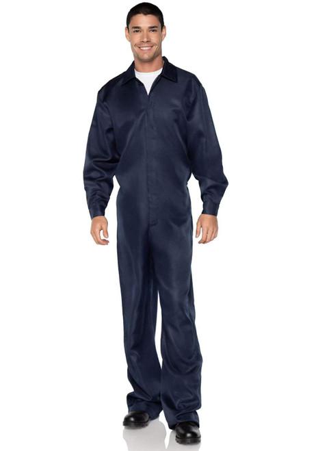 Men's Blue Coveralls Jumpsuit