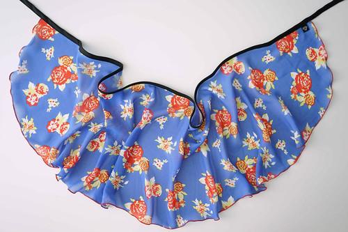WS206 Wrap Skirt: Nifty 50