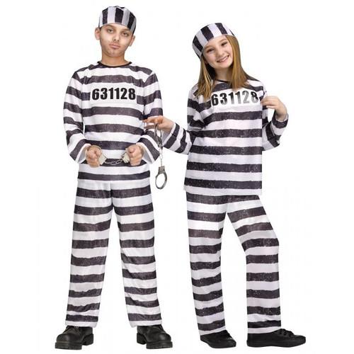 Jailbird Kids Costume