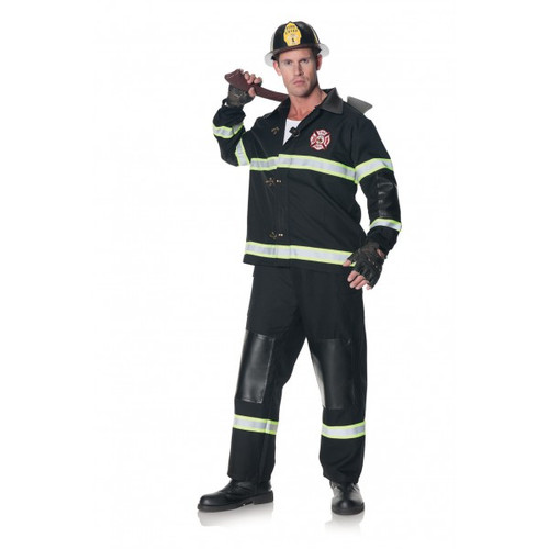 Rescuer Adult Firefighter Costume