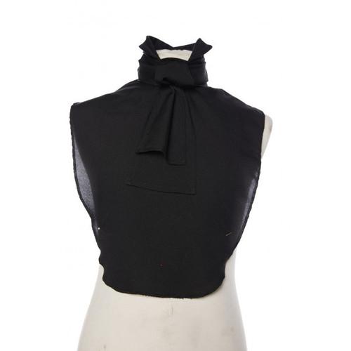 Shirt Front - Black Cravat