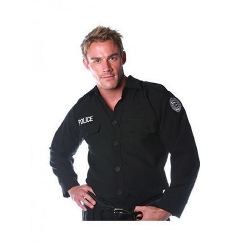 Police Shirt Adult Costume