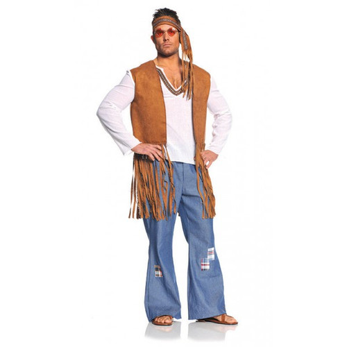 Right On Mens Hippie Costume