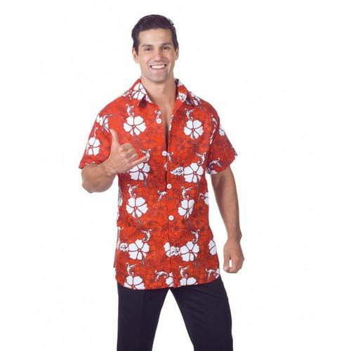 Underwraps Hawaiian Shirt Mens Costume