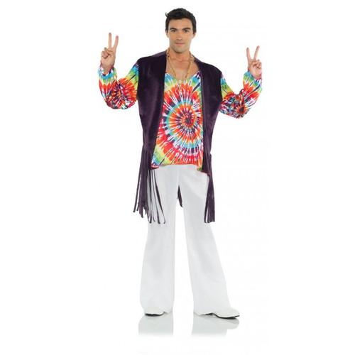 60's Tie Dye Adult Costume