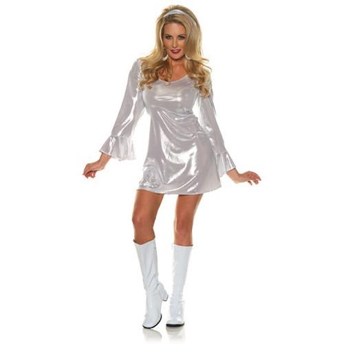 Disco 70's-Platinum Adult Costume