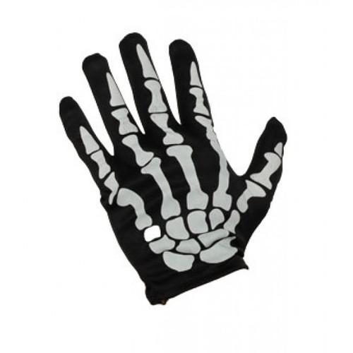 Skeleton Gloves Wrist Length
