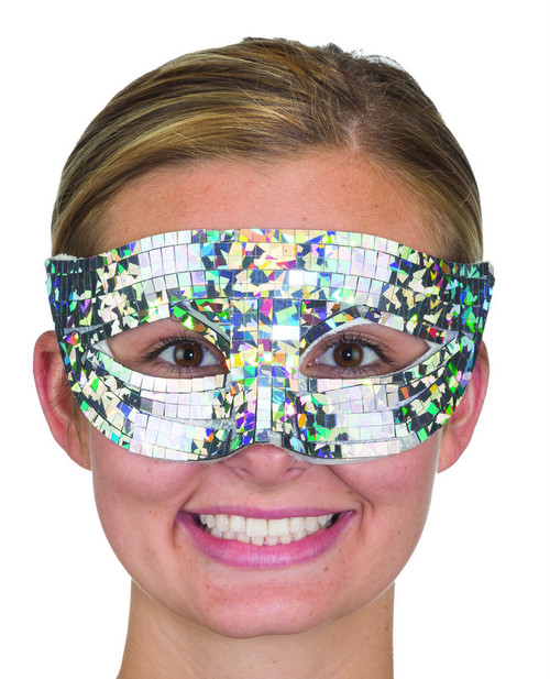 Silver Jewel Mask