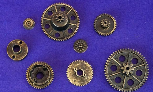 Steampunk Gears Copper