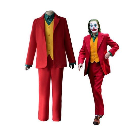 2019 Movie Joker Halloween Male Suit Cosplay Costumes