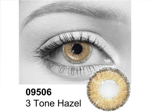 3 Tone Hazel Contact Lenses
