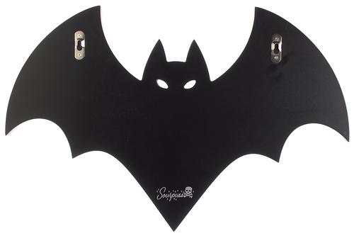 Sourpuss Bat Wall Hook Rack