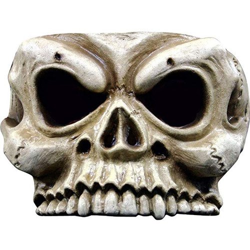 Ghoulish Half Mask Skull