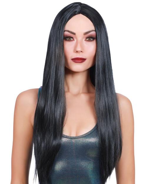 Long Straight Black Wig