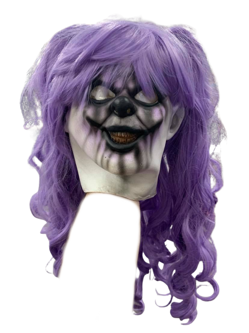 Pigtails the Clown Teen Fit Mask