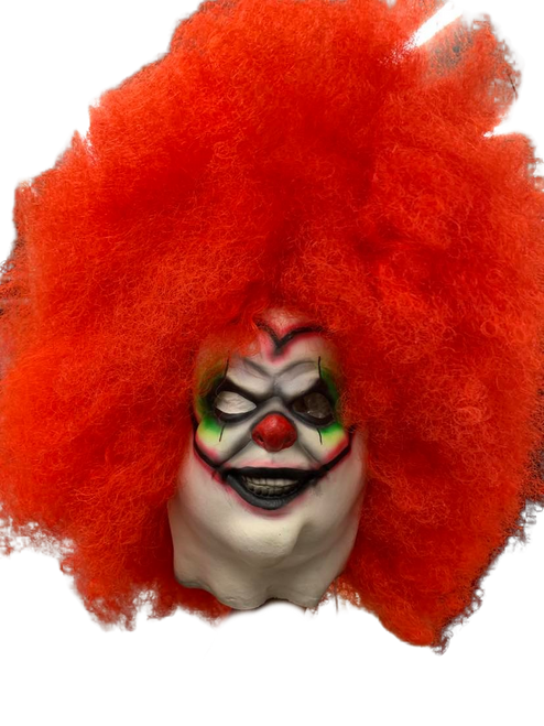 Sunshine the Clown Kid Fit Afro Mask
