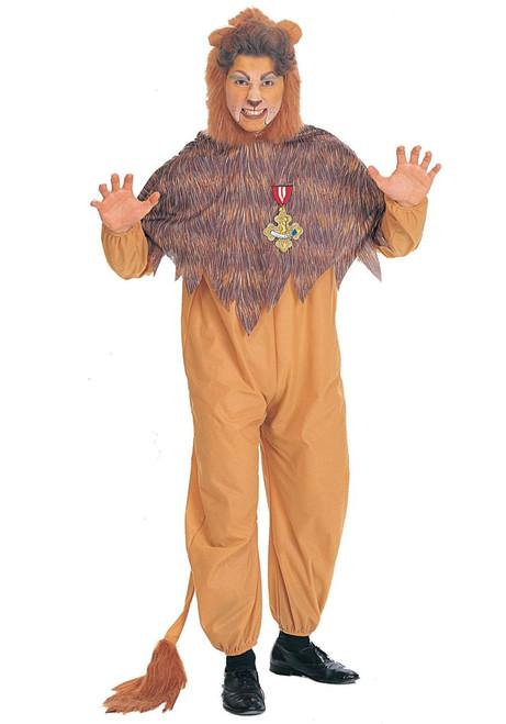 Rubies Cowardly Lion Adult Plus Costume