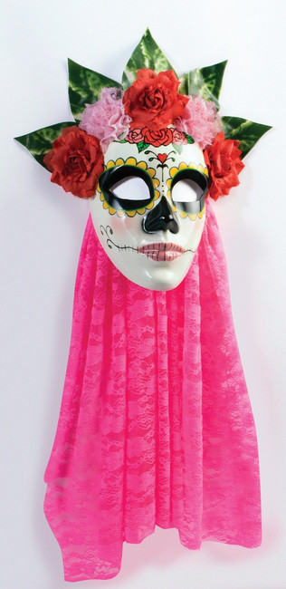 /day-of-the-dead-senora-pink-lace-mask/