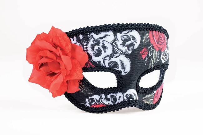 /day-of-the-dead-female-mask-with-eyeglass-design/